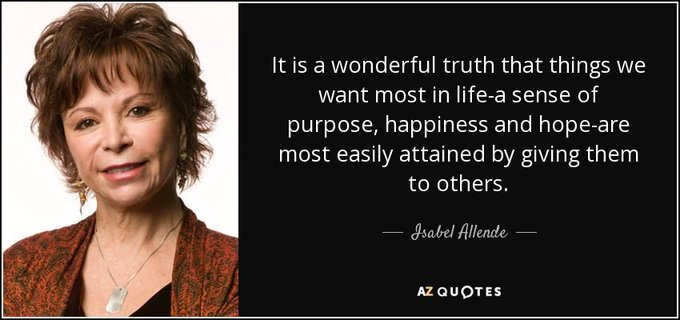 Happy birthday Isabel Allende! Which of her books have you read?