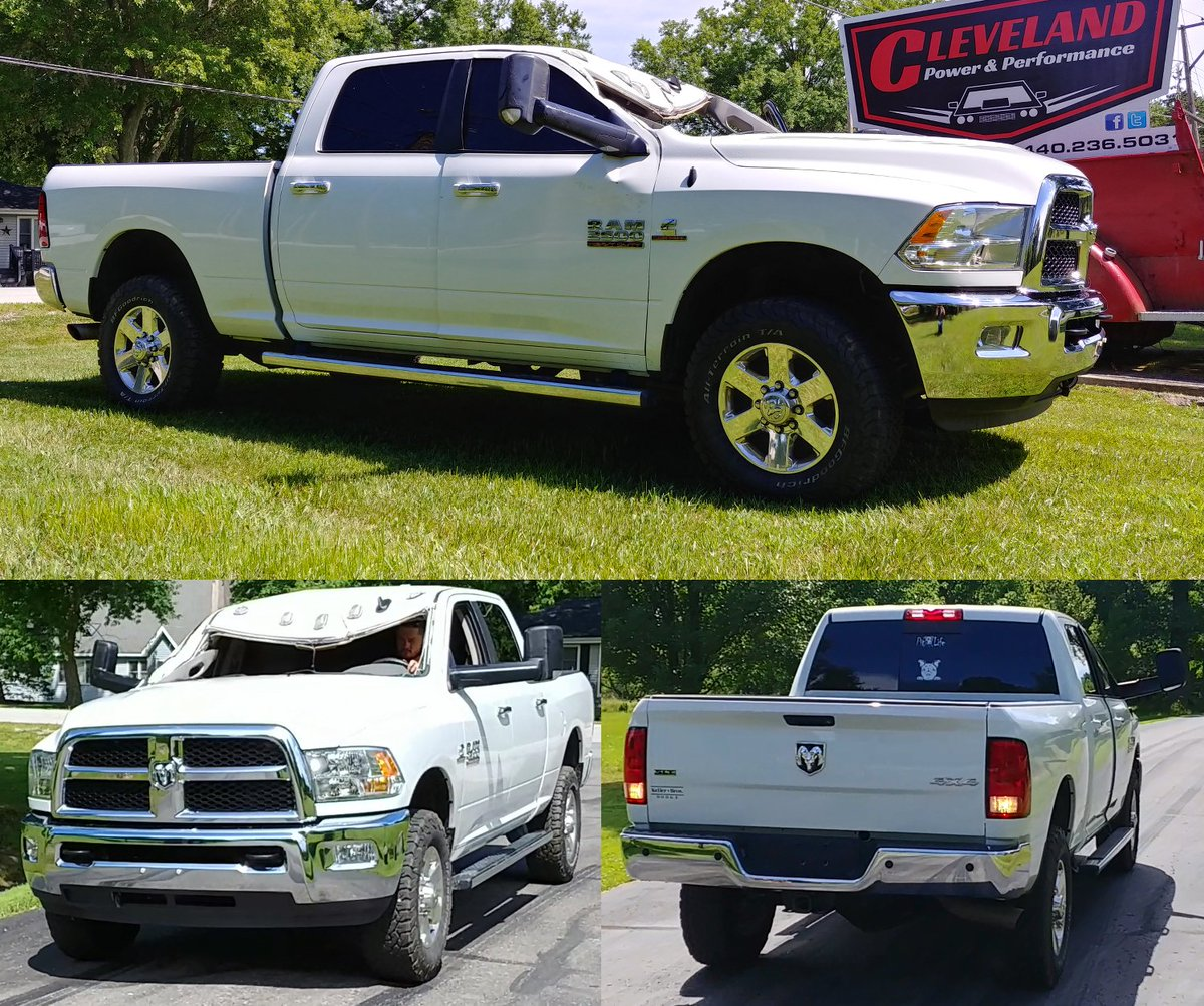 Cleveland Power Performance On Twitter New Arrival 2015 Dodge Ram 2500 Quad Cab W 62k 6 7l Cummins Turbo Diesel And 4x4 Auto Trans This Truck Does Run Drive And Will