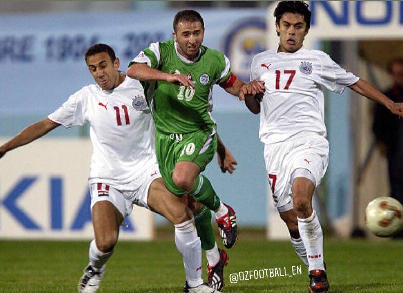 Image result for Djamel Belmadi captained algeria