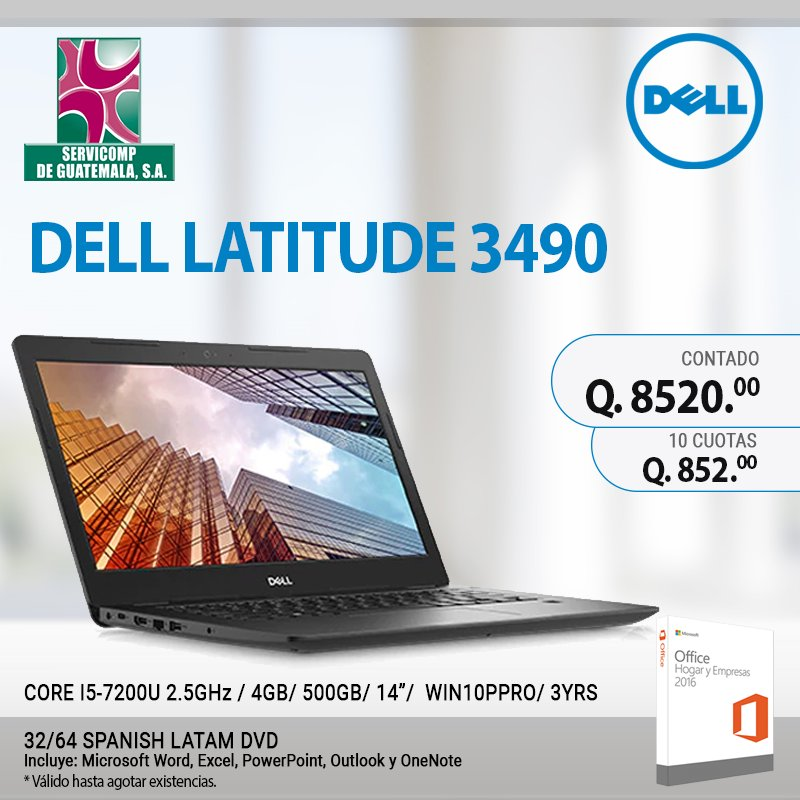 Swell Servicomp Guatemala On Twitter Adquiere Una Dell Latitude Home Interior And Landscaping Palasignezvosmurscom