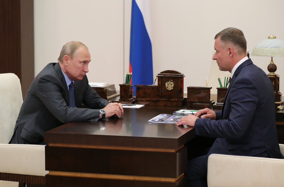 The President met with Emergencies Minister Yevgeny Zinichev bit.ly/2vdhP53