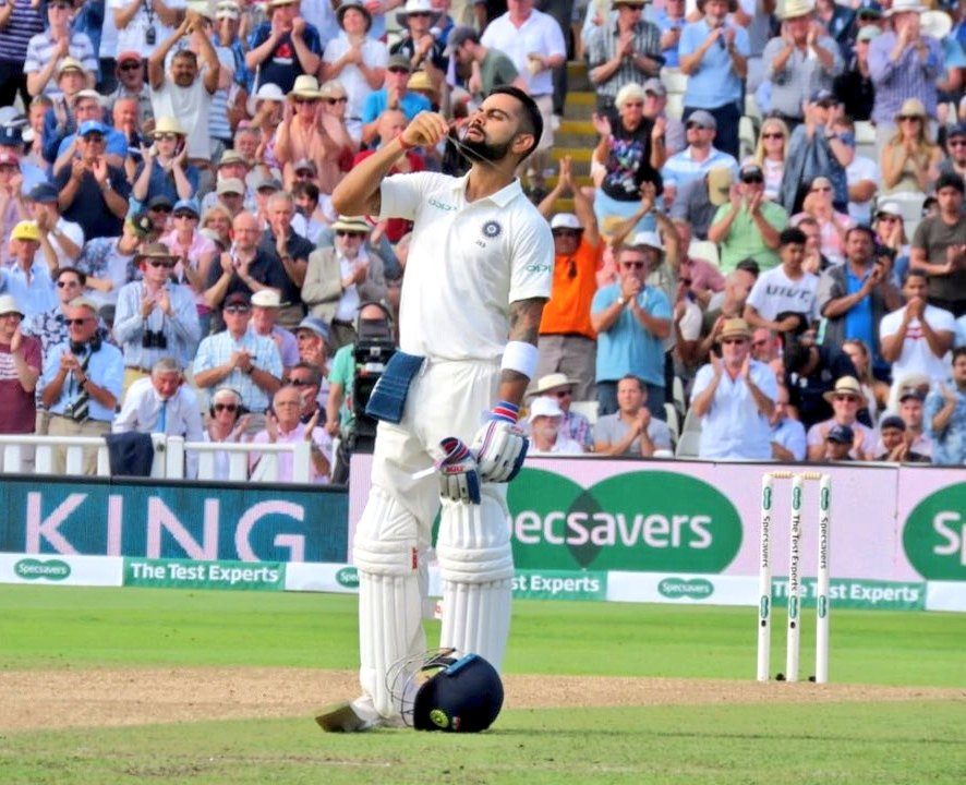 #ENGvIND - Kohli Heroics take India to Commanding Position on Day 2