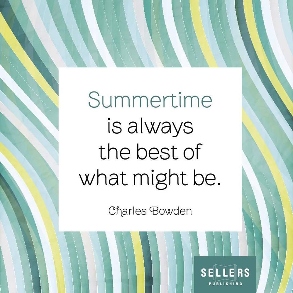 Hello August 👋 #sellerspublishing #quoteoftheday #summertime #helloaugust