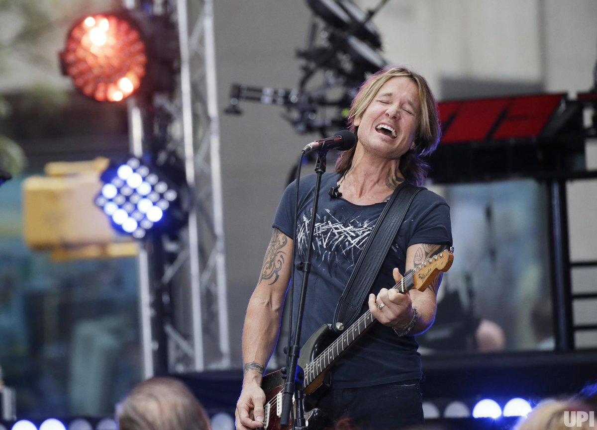 #KeithUrban @KeithUrban performed for the @TODAYshow August 2, 2018 at Rockefeller Center in NYC. Photos by John Angelillo @johnnyfoto for #UPI @UPI