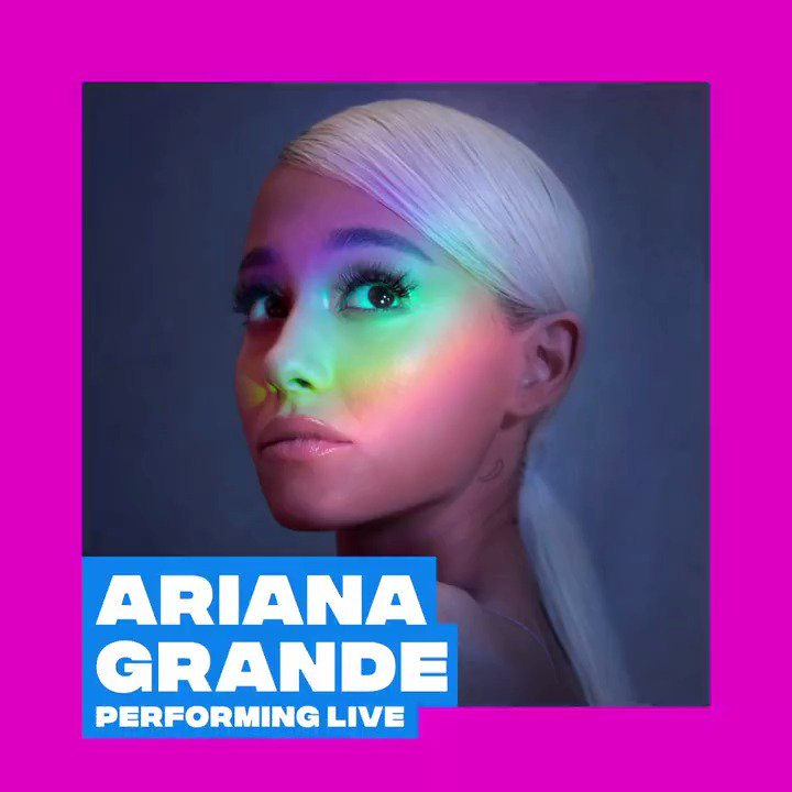 Hiiii #Arianators 💖@ArianaGrande is performing at the 2018 #VMAs 🙊 Don't miss her live performance August 20th on @MTV 🌙☁️