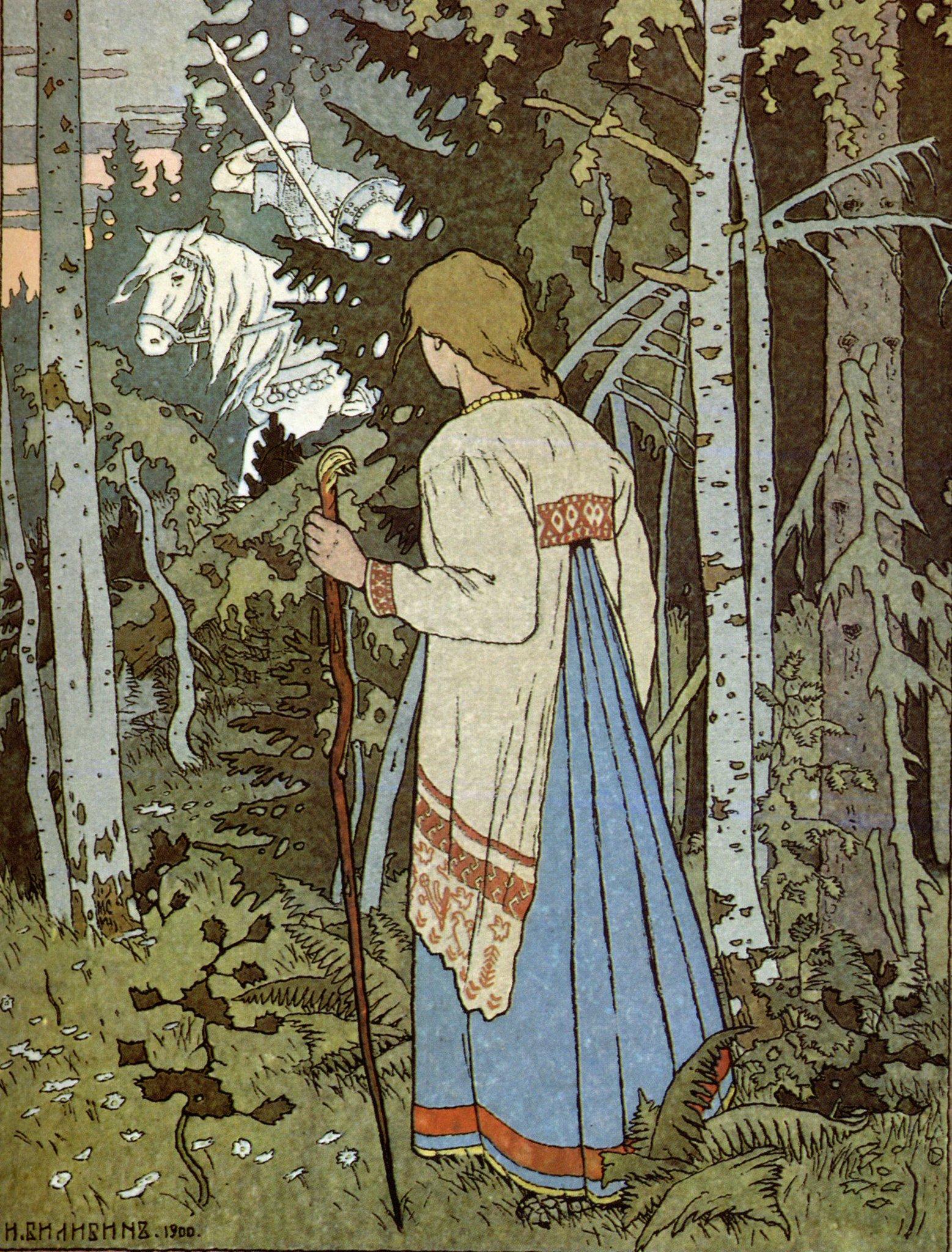 Старорусские картинки из сказок, рождением малыша