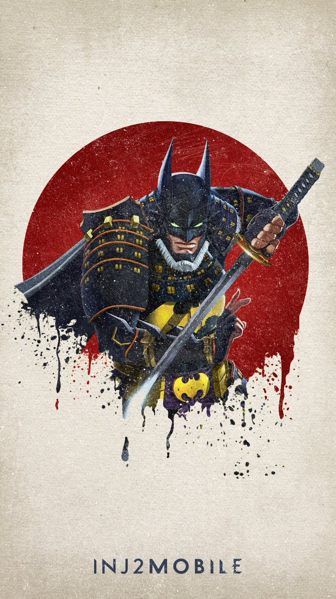 Injustice 2 Mobile On Twitter We This Batmanninja Batman Wallpaper Save It To Your Phone Now Inj2mobile