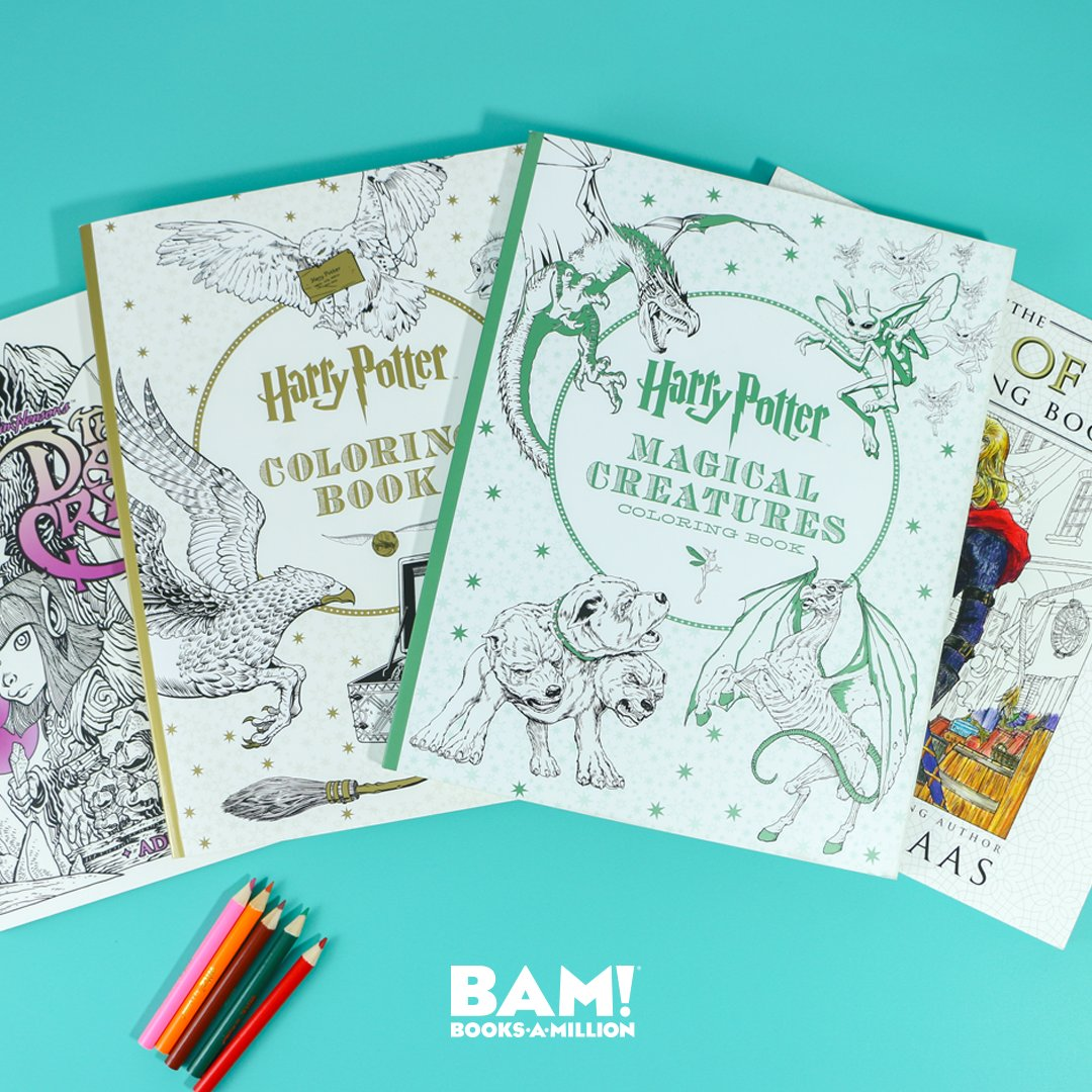 Books A Million On Twitter National Coloring Book Day Is The
