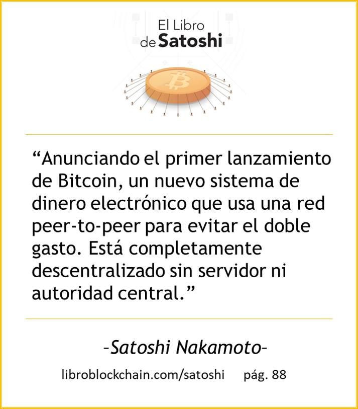 """El #LibroSatoshiESP está lleno de """"best moments"""" de la mano del creador de Bitcoin y sus colaboradores. Compartiremos algunos, pero no dejes de leer el libro, gratis y en español en https://t.co/T1XBnYecgk  . Además... #MeetupLibroSatoshi el 19 sept, pronto más detalles... https://t.co/yzHVD9jZCH"""