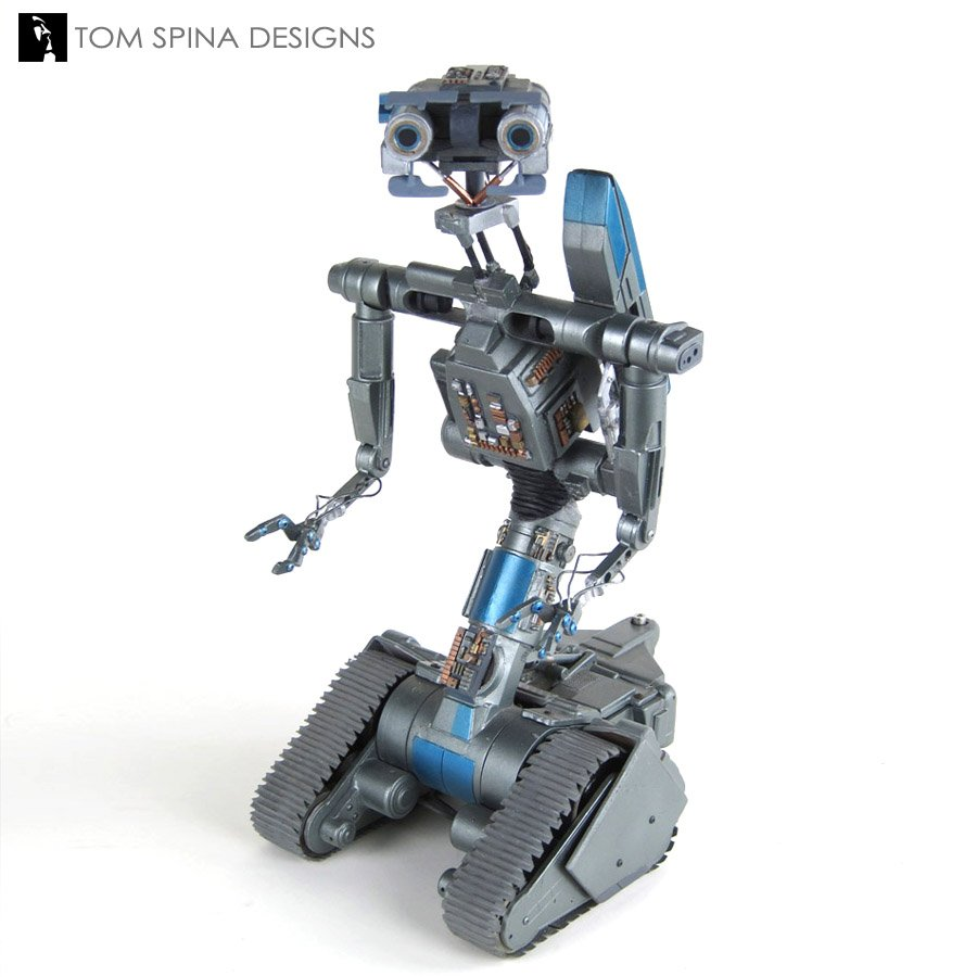 Construx Hashtag On Twitter Short Circuit Robots Http Tomspinadesignscom Restoration Science Fiction Props Johnny 5 2 Miniature Movie Prop Pic Opzhcaqavc