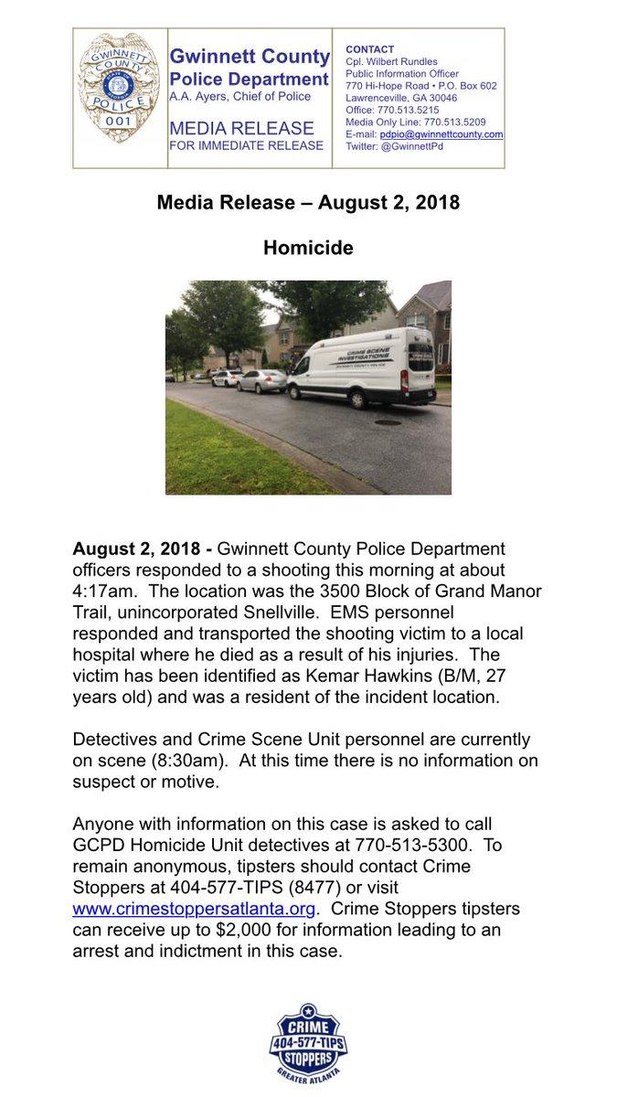 Gwinnett County Police on Twitter: