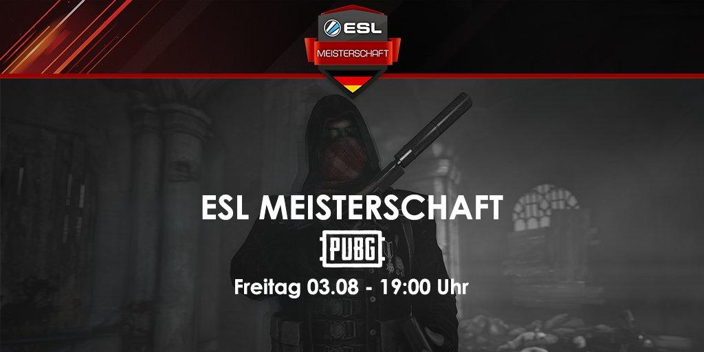 """Esl Pubg On Twitter See You In Kameshki: ESL Germany On Twitter: """"Heute Abend Geht's Rund: Die"""
