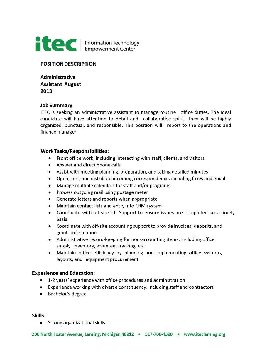 ITEC Lansing on Twitter: \