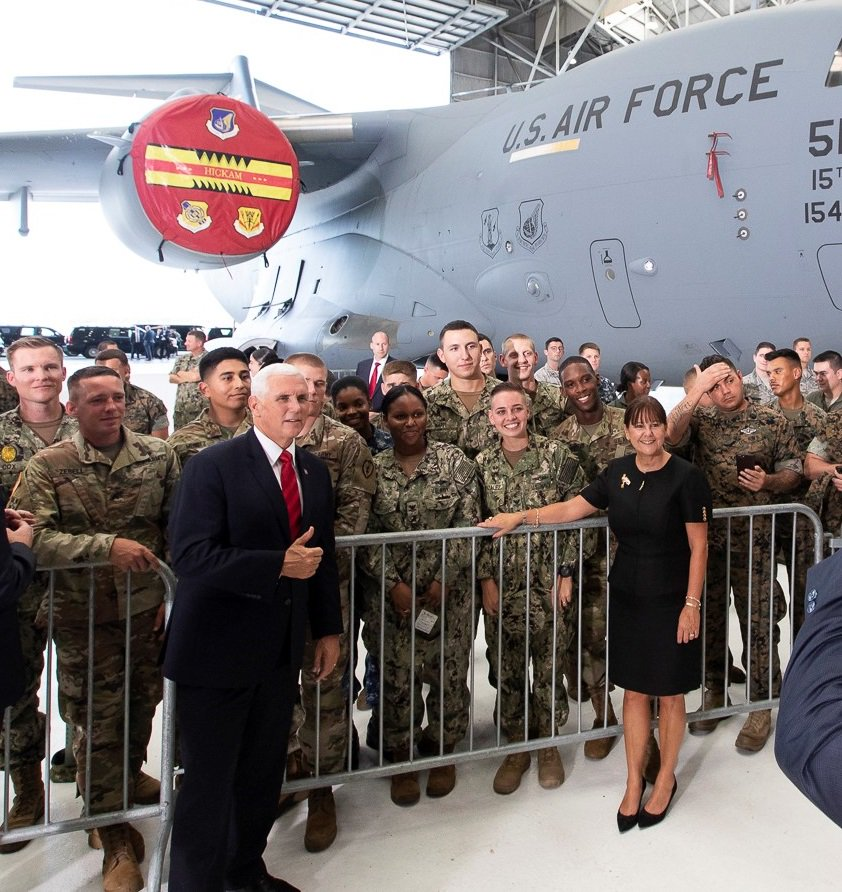 The Soldiers, Sailors, Airmen, Marines, and Coast Guard that serve in the @PacificCommand are the pride of the Nation. The Commander-in-Chief, the American people, and I are proud and grateful.