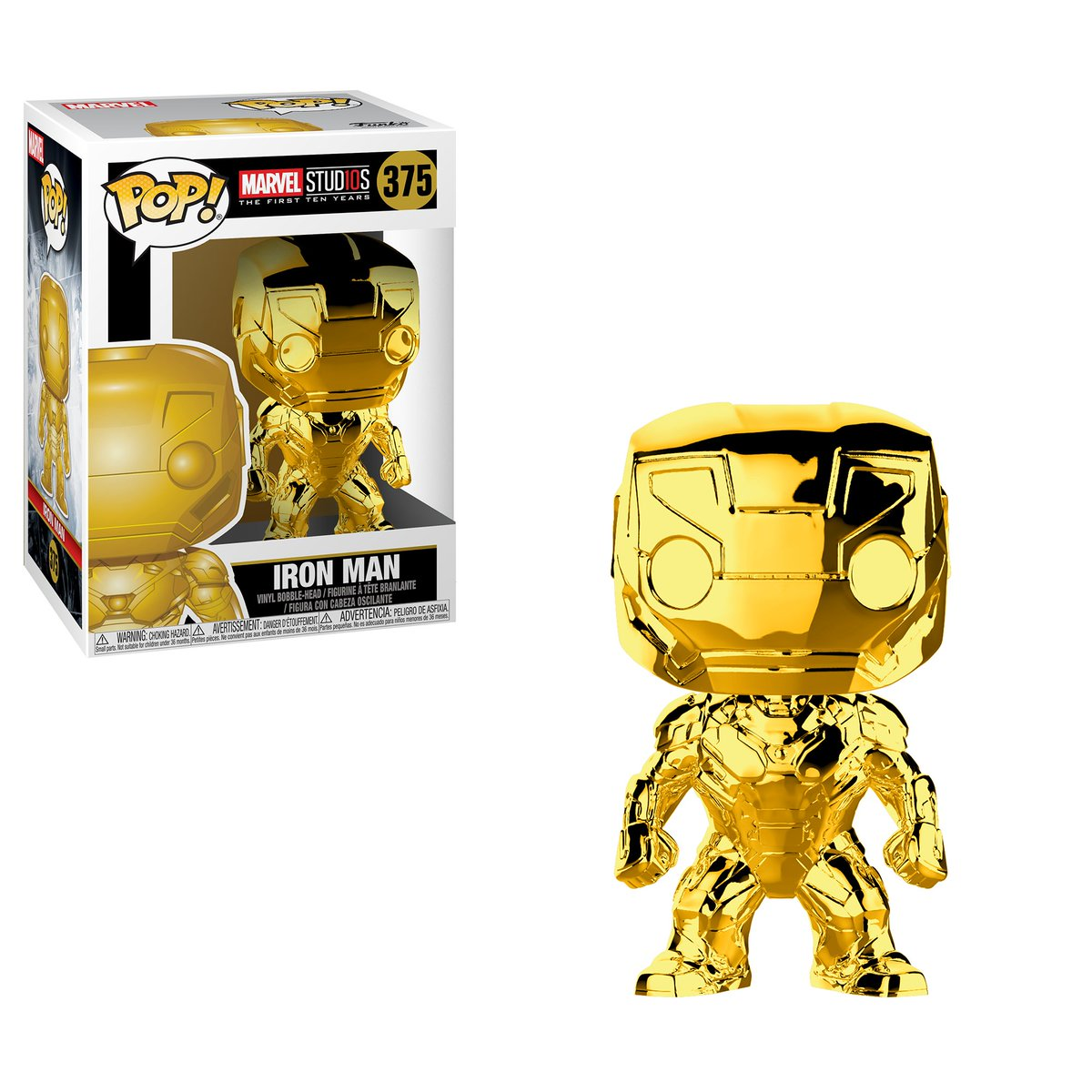 RT & follow @OriginalFunko for the chance to win a Marvel Studios 10 gold chrome Iron Man Pop!