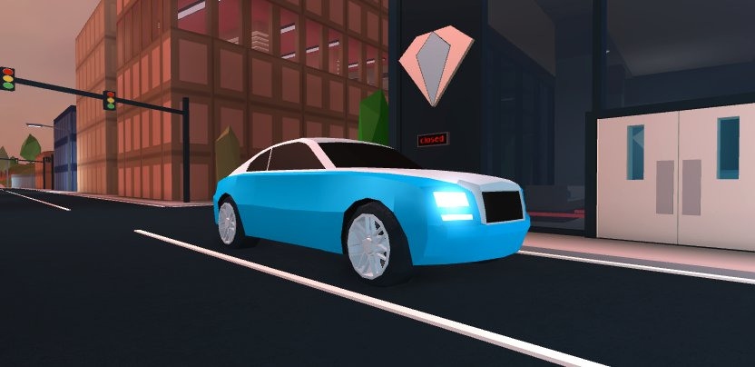Badimo On Twitter The New Car Coming To Jailbreak Is Exclusive To The Boss Gamepass It S A Rolls Royce Wraith We Ll Reveal A Special Feature This Car Has Soon