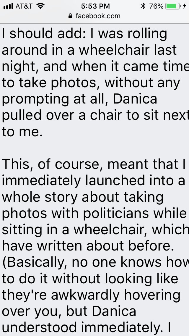 b6b3c722ee76 This meant a lot to see floating around social media today. The takeaway is  to meet people where they are with kindness and decency.