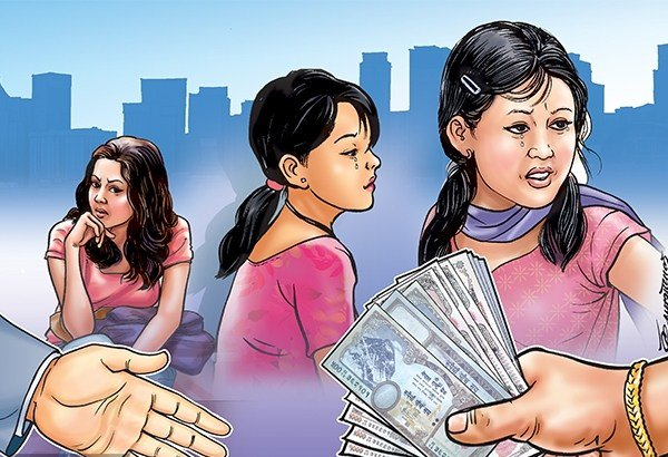 हात–हातमा यसरी बेचिन्छन् नेपाली महिला