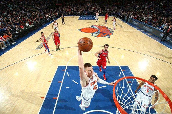 New York Knicks: Happy 23rd Birthday to Kristaps Porzingis