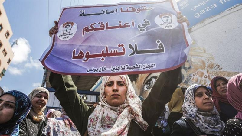 UNRWA TAMATKAN KONTRAK KERJA RAKYAT PALESTIN UNWRA telah mengumumkan bahawa tidak akan memperbaharui semula kontrak 1000 pekerja mereka yang ada di Semenanjung Gaza. Rabu lepas, UNRWA telah memberhentikan 113 pekerjanya atas alasan pemotongan bantuan sebanyak 80% daripada US.
