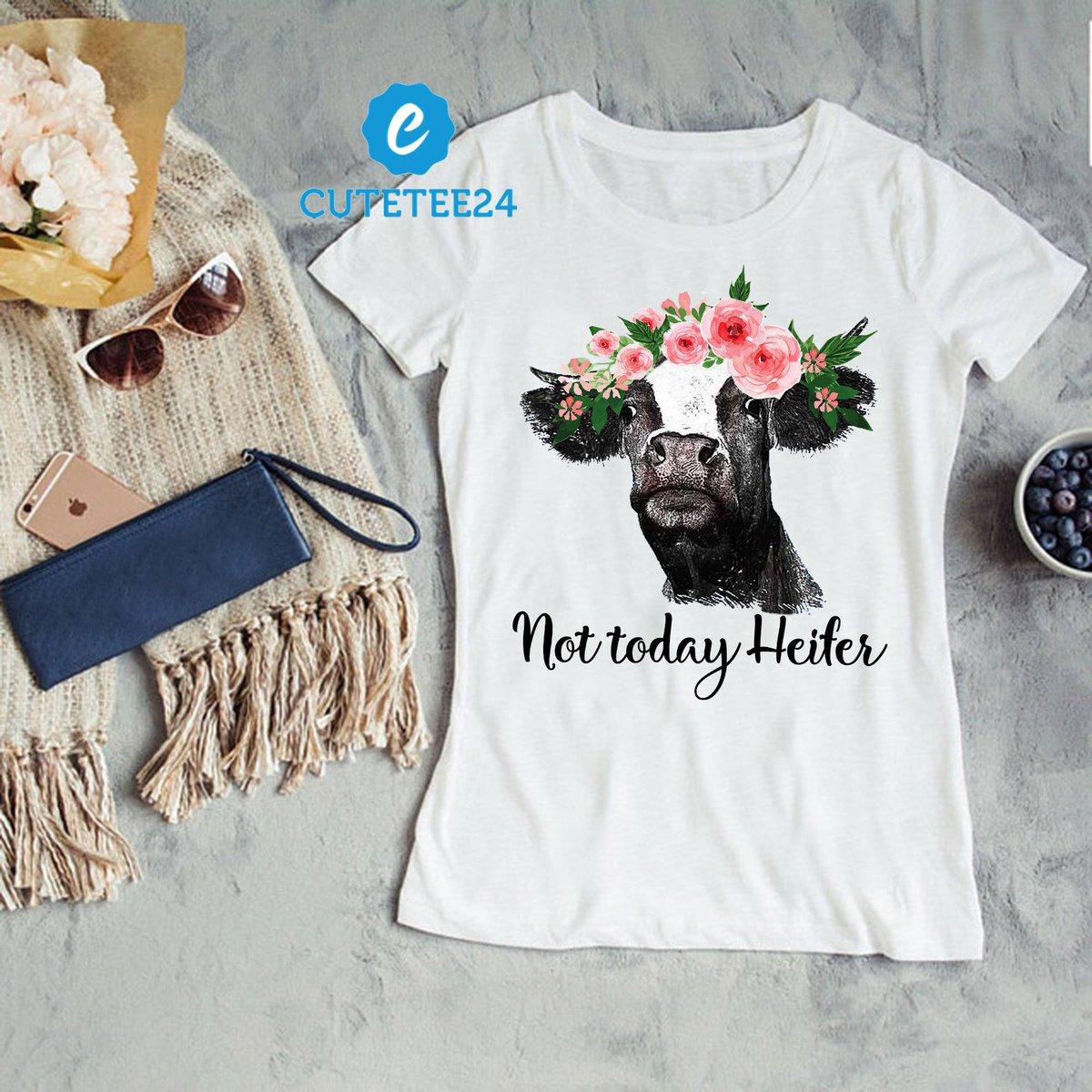 516377549 ... Not Today Heifer Short-Sleeve Unisex T-Shirt, Funny Heifer T-shirt, Cow  Funny Women T-shirt https://etsy.me/2AD2f82 #clothing #women #tshirt #heifer  ...