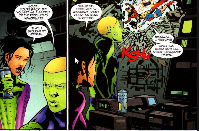 Supergirl and Brainiac 5 #SaveSwampThing on Twitter: