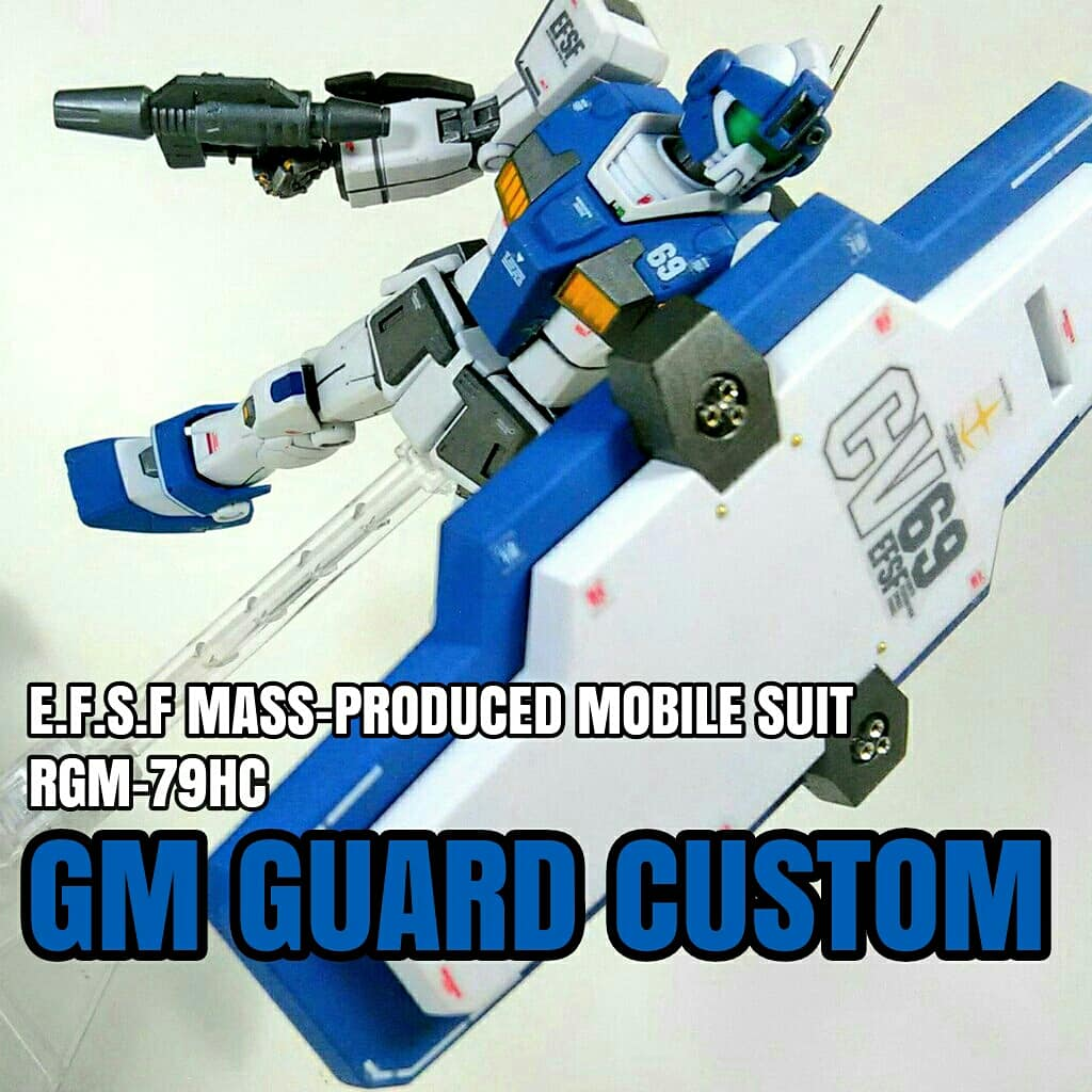 HG 機動戦士ガンダム THE ORIGIN MSD ジム・ガードカスタムに関する画像1