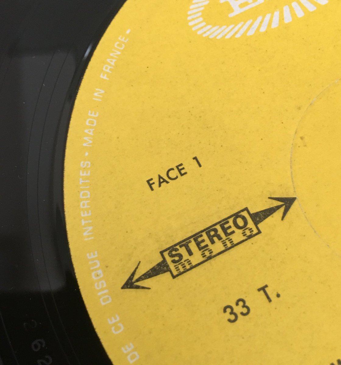 """本秀康 on Twitter: """"フランスのレコードはA面B面を「SIDE」ではなく ..."""