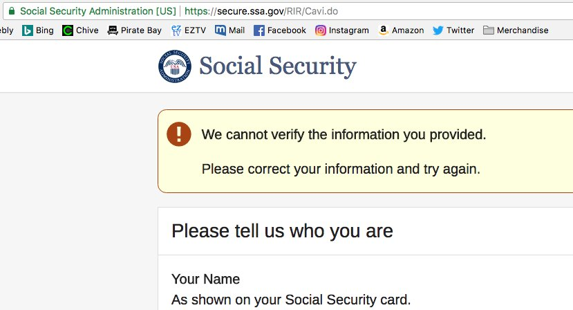social security administration instagram