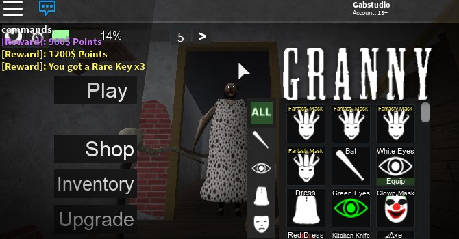Gab On Twitter Roblox Robloxdev The Keys To Open The - roblox granny masks