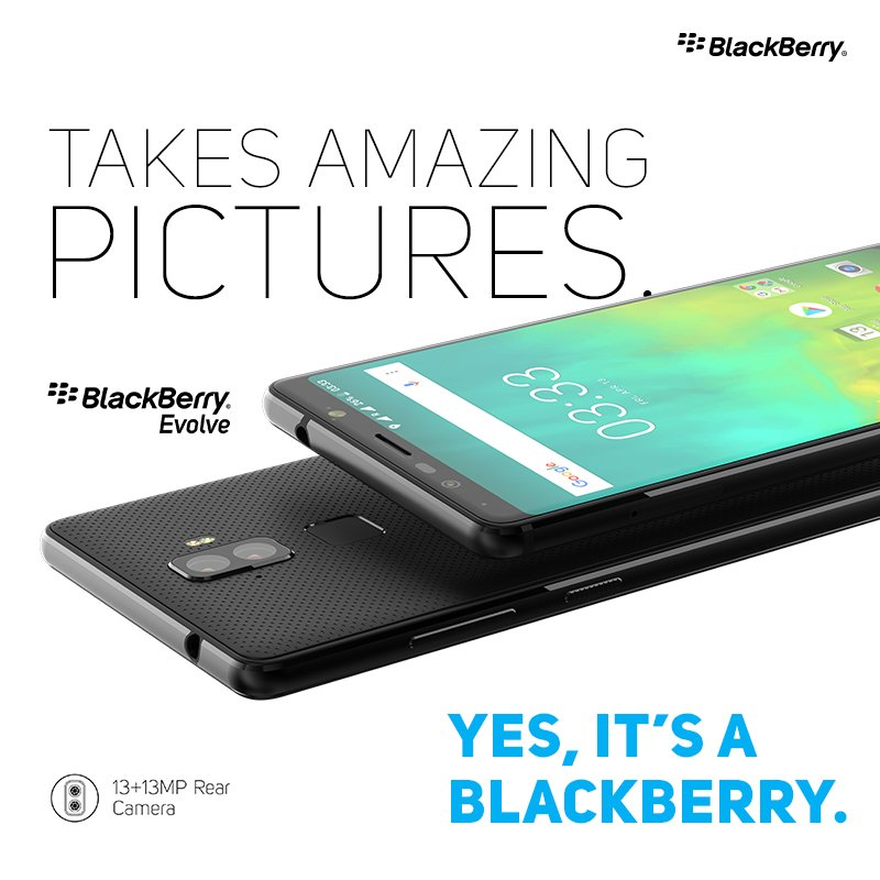 BlackBerry Evolve X