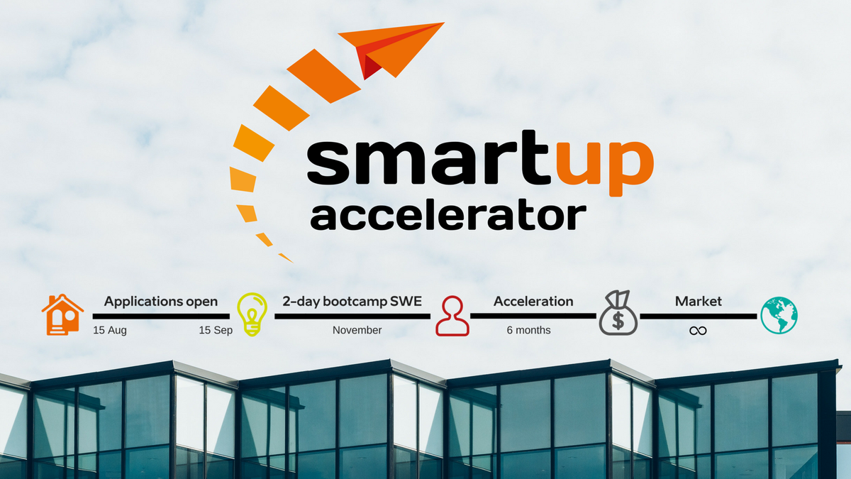 Do you work on a product or service that enables more sustainable & #smarthome and living? Apply by 15 September for the acceleration program with the #Interreg @smartupacc project to get support in entering new markets in the #BalticSeaRegion. #innovation #BSR