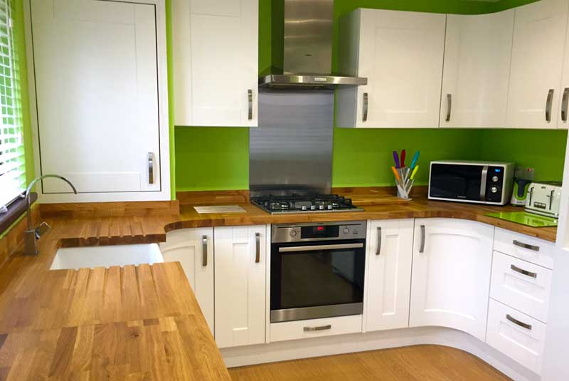 Dylan From Aberdeenshire Shows Us His Newly Fitted Innova Linwood White  Kitchen Supplied By DIY Kitchens (Ref:1018)    Http://bit.ly/CustomerKitchens U2026 ...