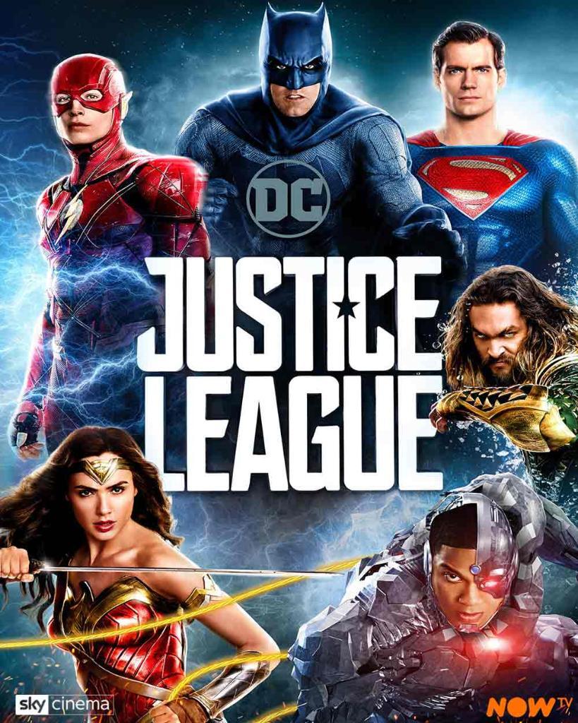 Superman ✅ Batman ✅ Aquaman ✅ Wonder Woman ✅ The Flash ✅ Cyborg ✅  #JusticeLeague is here