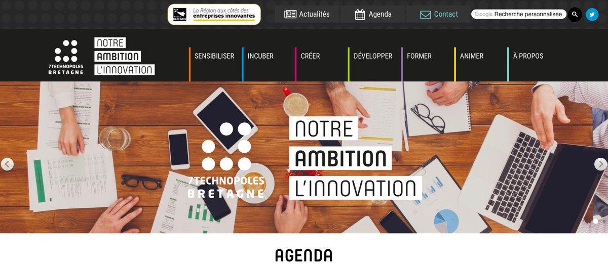 🚀 Le site internet des @7TechBZH est en ligne ! Découvrez l'actualité des 7 Technopoles Bretagne & les infos à ne pas louper 👀▶️ https://t.co/TfM5bEvULH https://t.co/2W5WGGLcz4