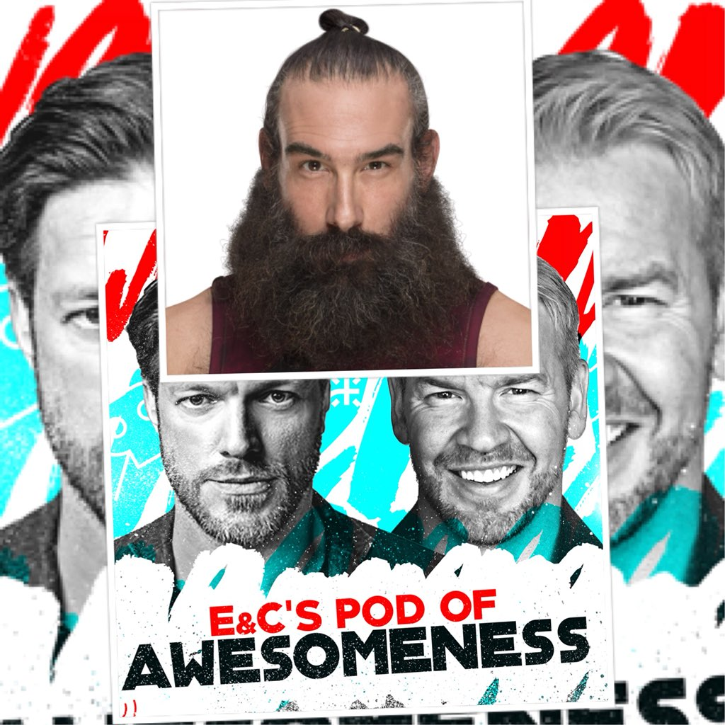 Now on @EandCPod we have @LukeHarperWWE one half of the Bludgeon Brothers and in my personal opinion one of the most talented performers in wrestling right now. We talk hockey, Foo Fighters, @Christian4Peeps being a dick, taking the bullet out of the gun and a lot more