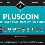 Image for the Tweet beginning: PlusCoin Token $PLCN is now