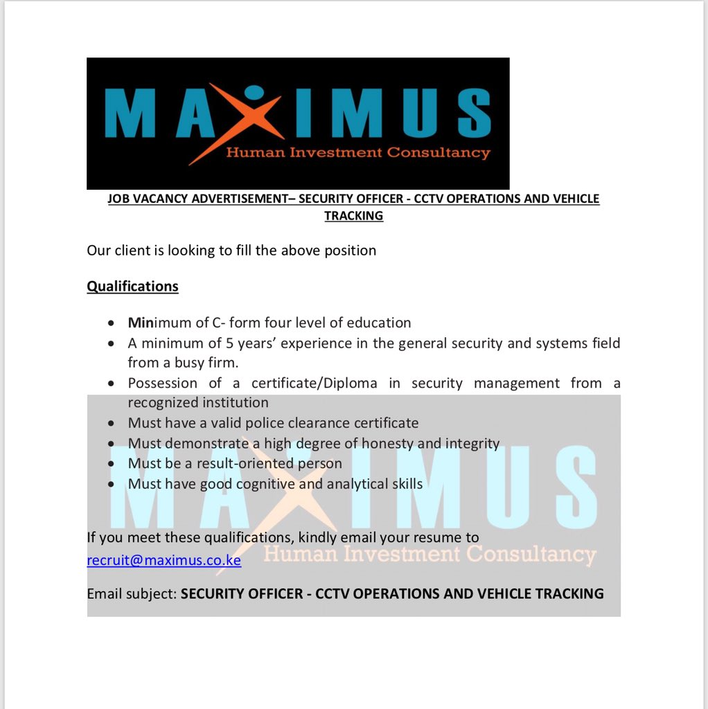 Maximus Limited on Twitter: \