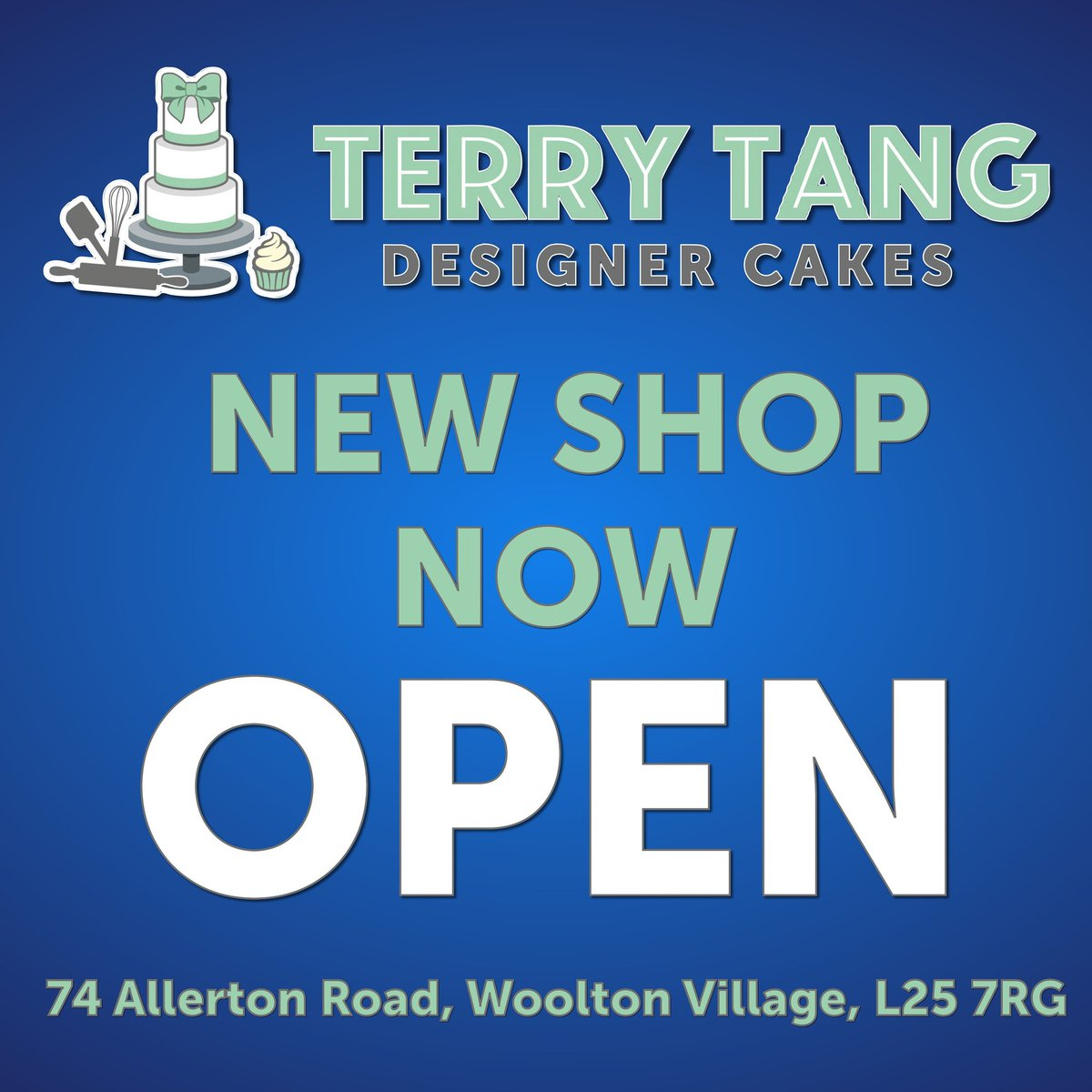 Terry Tang Cakes On Twitter Were So Excited Our New Shop Is