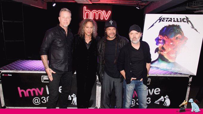 Happy Birthday to James Hetfield!   Here\s a to when visited