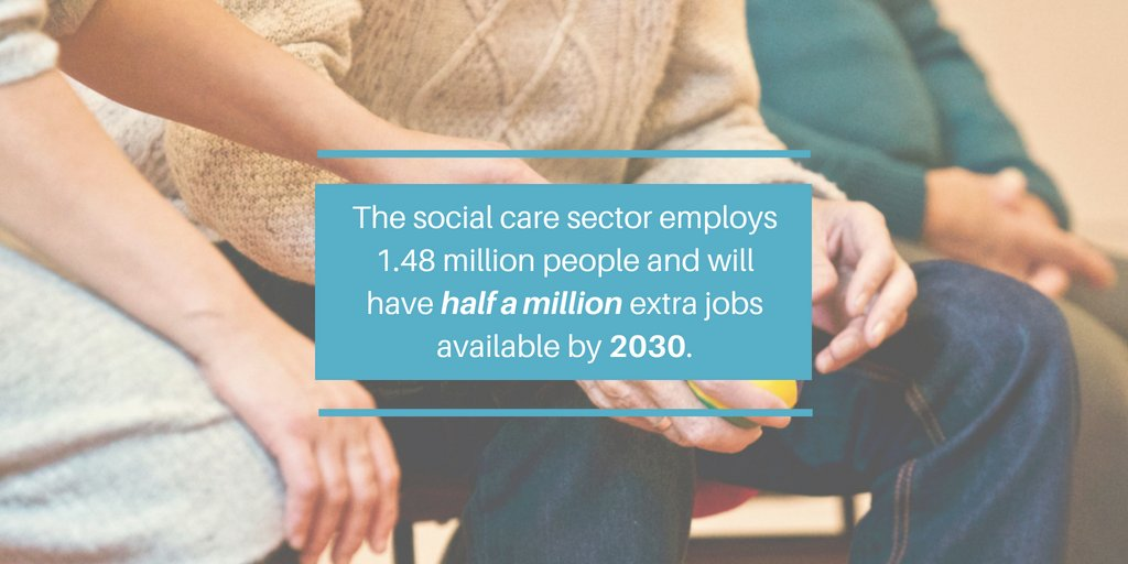 🌍 #OLDHAM |We just started a new course: Social Care! 👴👵 According to @HealthCareersUK, this is a great time to join the industry!  📞 0161 414 0400  💻 Oldham@free2learn.org.uk
