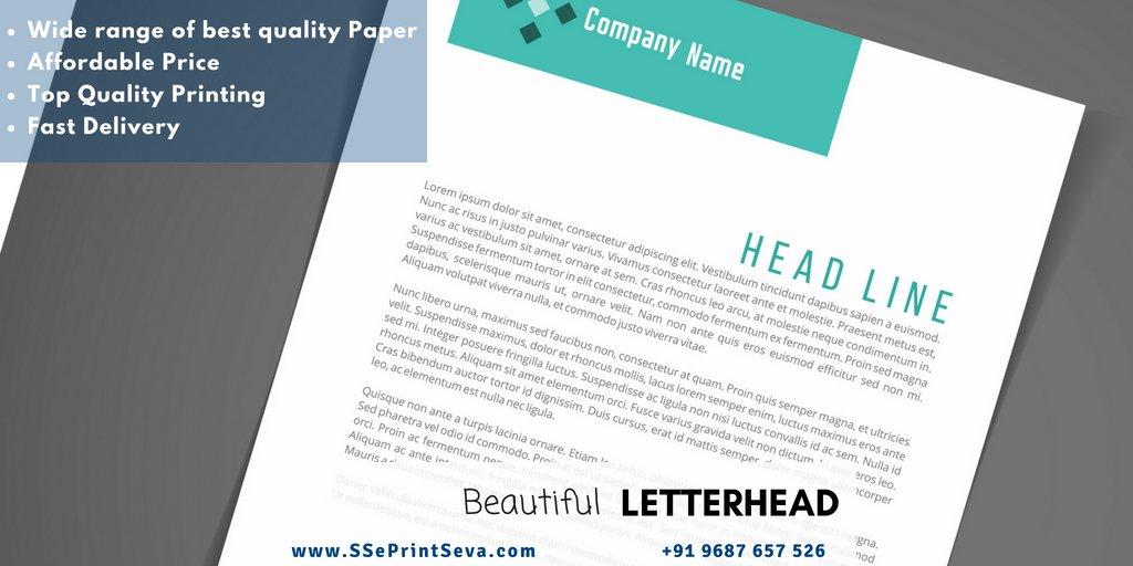 Attractive and customize Letterhead Printing Keep it easy with letterhead Design and Printing from SSePrintseva #Printing #Letterhead #customizePrinting Say Hello to SS ePrintSeva: +91 9687657526 | ss.eprintseva@gmail.com Webiste: http://www.SSePrintseva.compic.twitter.com/TXCaXQu6VV