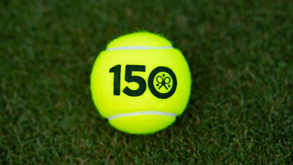 A special touch for our 150th anniversary celebrations 🤗 #Wimbledon 🎾