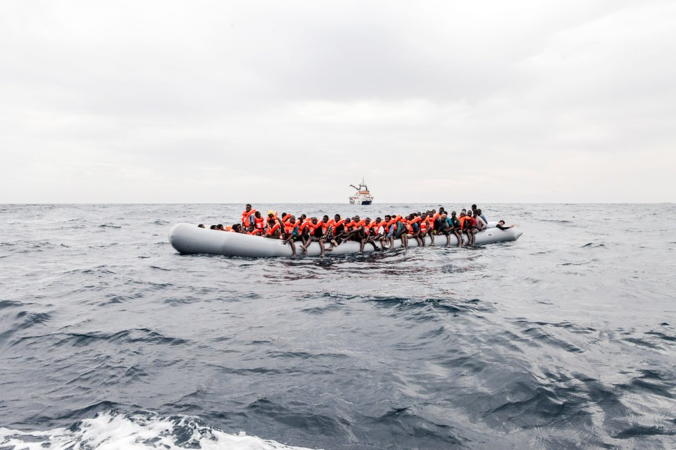 Image result for UNHCR alarms as Mediterranean Sea deaths pass 1,500 mark