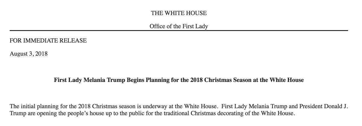 It's almost Christmas and FLOTUS is on it.