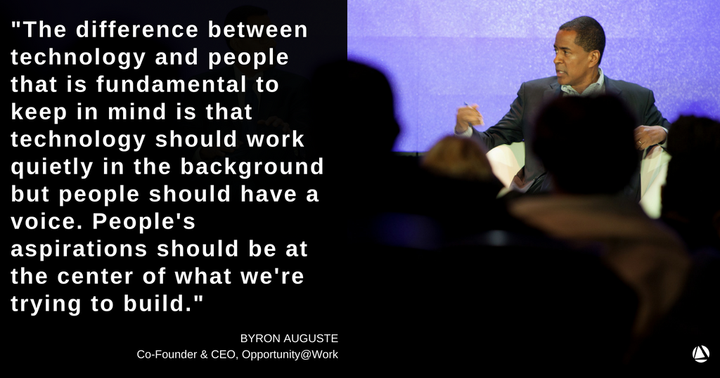 At #NPGoL, a panel of social impact leaders, including @byron_auguste of @OpptyatWork, discussed the #FutureofWork and what the implications are for the social sector as a whole. Click here to watch the full panel:  https:// hubs.ly/H0dgg7J0  &nbsp;  <br>http://pic.twitter.com/nQR9Am6qEM