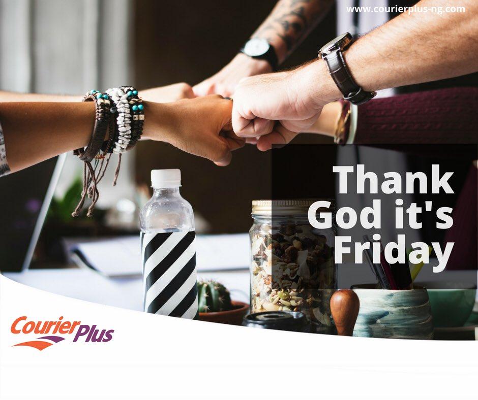 Thank God it's Friday #tgif #courierplus #cplusit