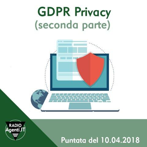 #GDPR #Privacy - 25 maggio 2018 Cosa ha comporta il nuovo GDPR per gli #AgentidiCommercio? C\