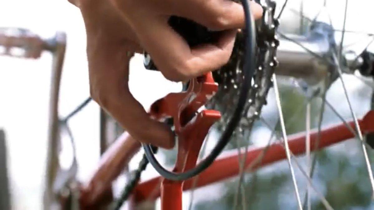 自転車 vブレーキ 調整