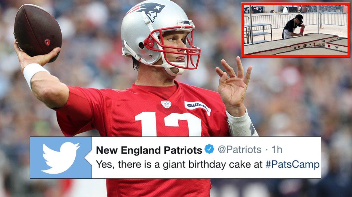 Tom Brady Birthday Celebration Baaz